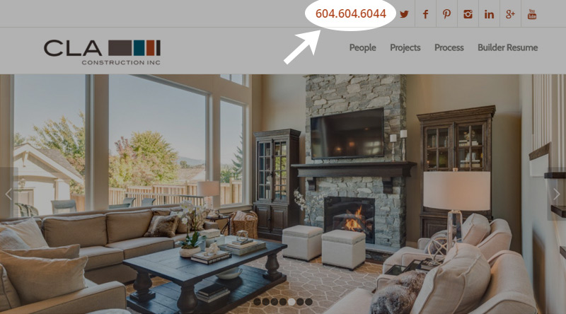 selling-new-homes-place-phone-number-in-website-page-header