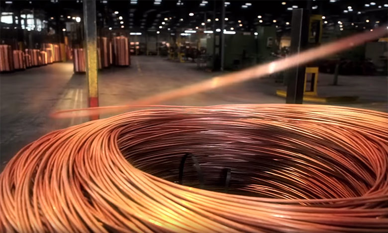 Photo of copper wire - saving wire can help an electrician lower costs