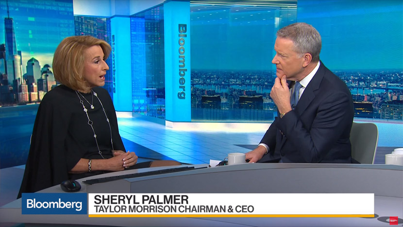 Sheryl Palmer interviewed by Bloomberg about construction labor shortage