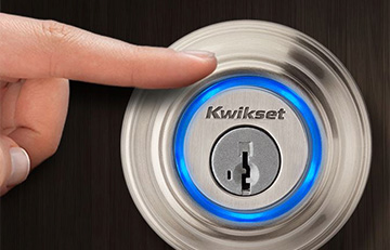 image of kwikset smart door lock