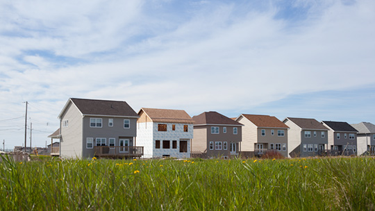 image of new housing - home builder lower costs