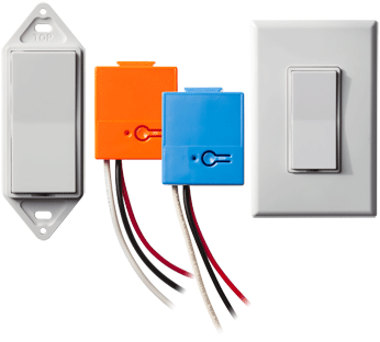 wireless lighting control - switches and dimmers
